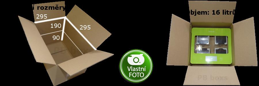 Výškově nastavitelná klopová krabice 300x300x200 mm
