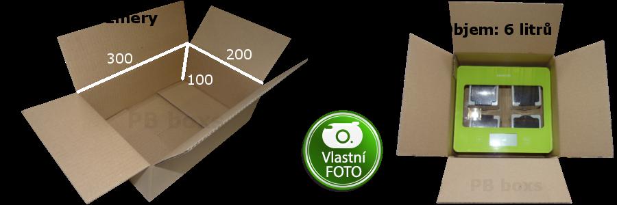 Parametry 300x200x100 mm