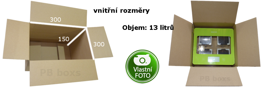 Klopová krabice 300x300x150 mm