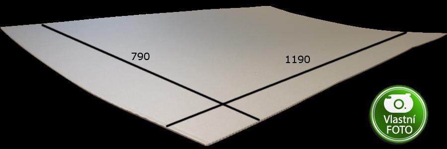 rozměr proložky 1190x790 mm 3VVL
