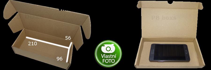 Výseková krabice 210x96x56 mm